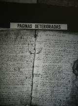 Libros de Bautismo Peñcerrada 1547-1603 P2