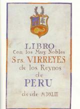 Virreyes de Perú Portada